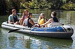 Надувная лодка Intex Excursion 5 пятиместная, фото 6