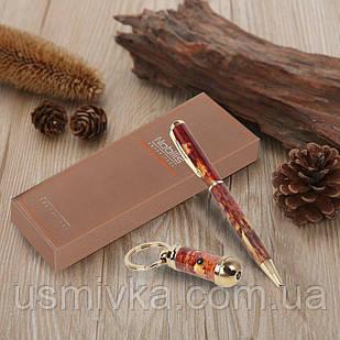 Брелок с фонариком, шариковая ручка набор подарочный 395510