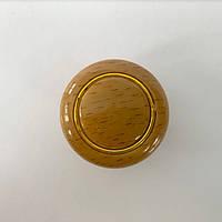 Мебельная ручка 1038 кнопка бук