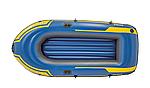 Надувная лодка Intex Challenger 2 двухместная, фото 4