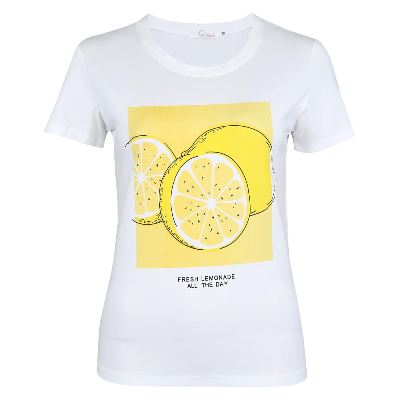 Футболка жіноча Lianara коттон з принтом Lemon р. M, L, XL