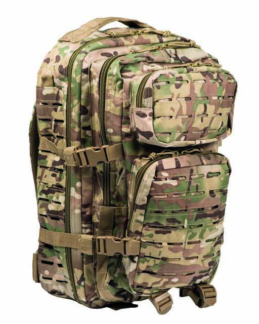 Рюкзак Mil-Tec штурмовий Assault LazerCut (Multicam, 36 л.)