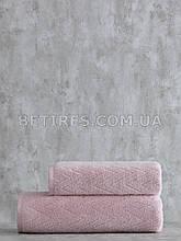 Набор полотенец PAVIA SHERON PUDRA (75х150, 50х85) розовый