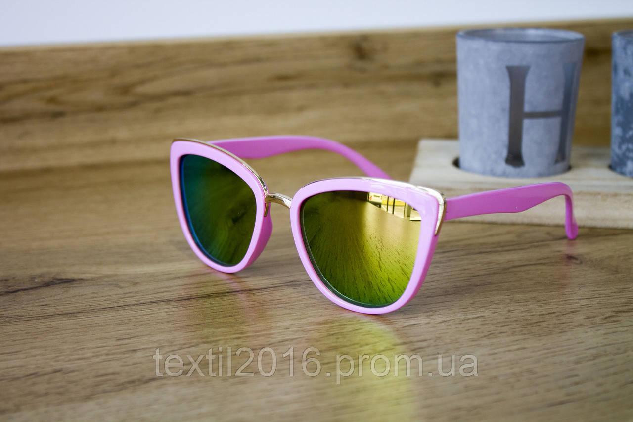 Дитячі окуляри рожеві 0431-6