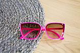 Дитячі окуляри малинові 0466-2, фото 4