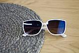 Дитячі окуляри білі 0466-5, фото 4