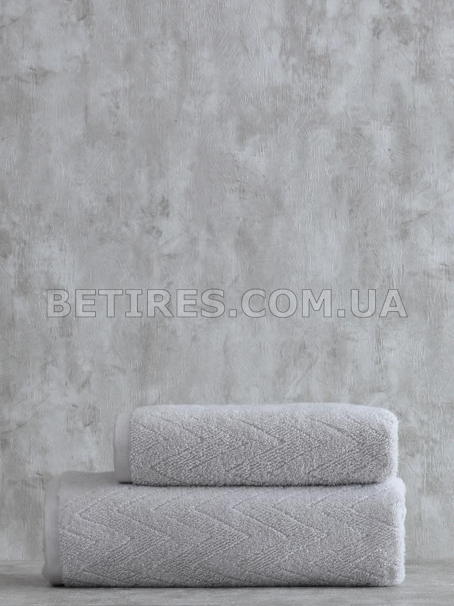 Набір рушників PAVIA SHERON GRI (75х150, 50х85) сірий