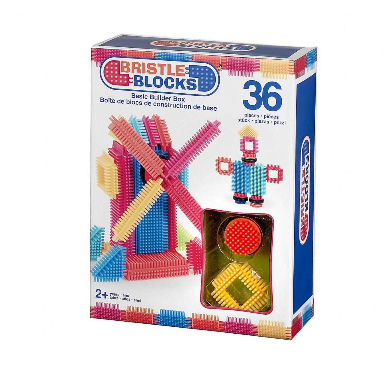 Конструктор-брістл Bristle Blocks Будівельник g3099Z