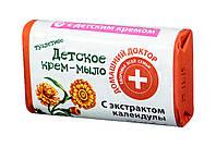 Детское крем-мыло Домашний Доктор с экстрактом календулы - 70 г.