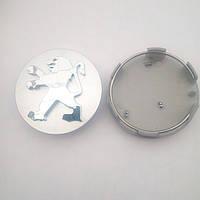 Ковпачок диск Peugeot діаметр 57 мм