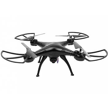Квадрокоптер 1million c WiFi камерой Черный