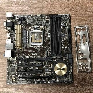 Материнская плата Asus H97M-PLUS (s1150, Intel H97, PCI-Ex16)