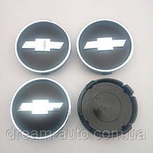Ковпачки в диски Chevrolet 55-60 мм