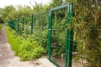 Забор из сварной сетки для ограждения дачных участков