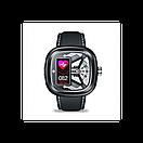 Розумні смарт годинник Smart Watch Max Robotics Hybrid 2 з вимірюванням тиску (Чорний), фото 2