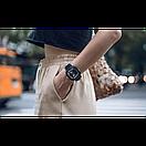 Розумні смарт годинник Smart Watch Max Robotics Hybrid 2 з вимірюванням тиску (Чорний), фото 8