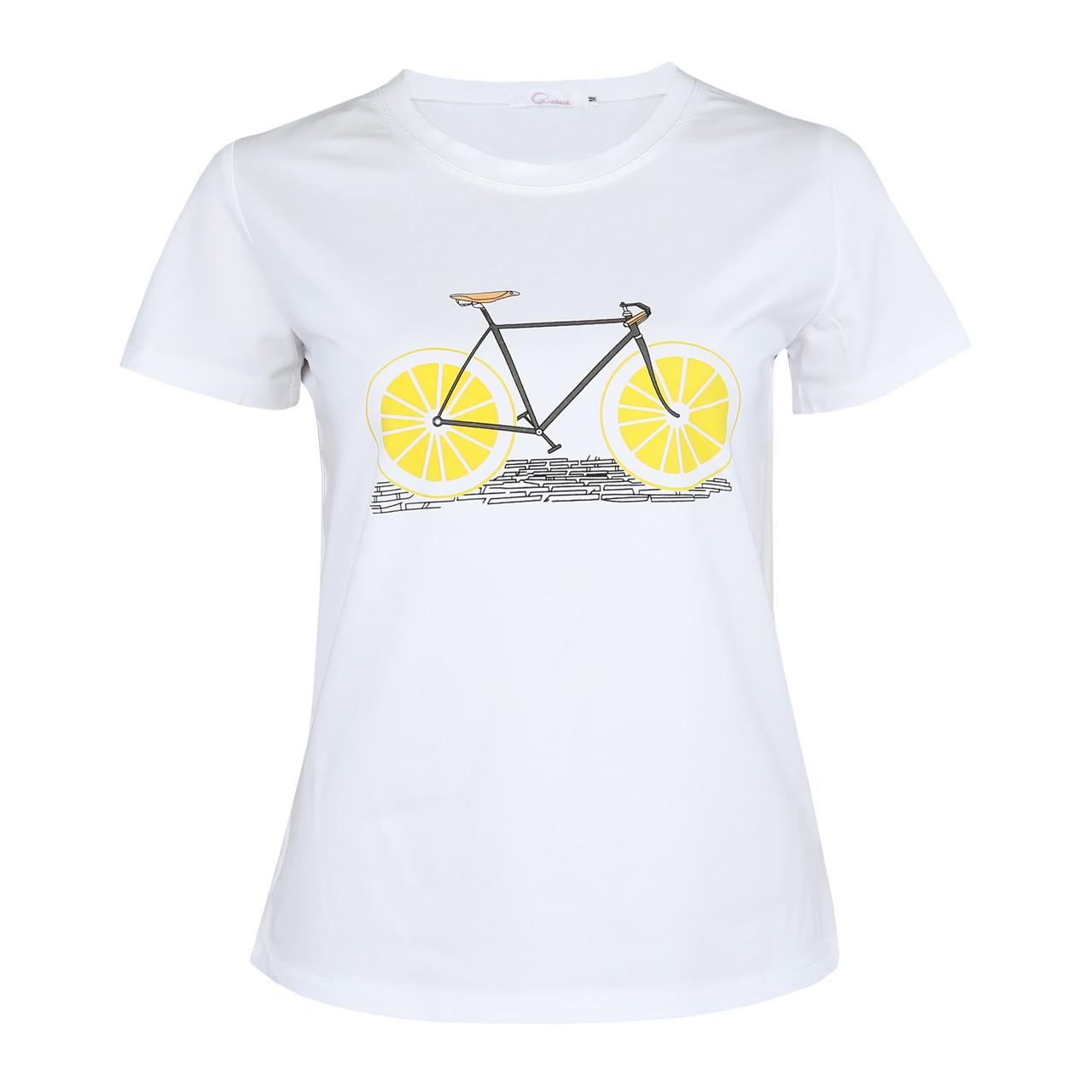 Футболка женская Lianara коттон Велосипед р. M, L, XL