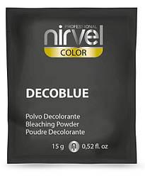 Nirvel ArtX blue.Блондирующий порошок, пудра. 15