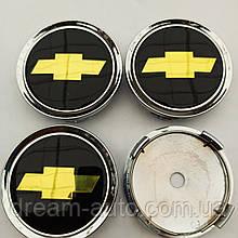 Ковпачки в диски Chevrolet 70-74 мм чорні