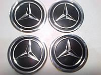 Наклейка на ковпак диска Mercedes 60 мм