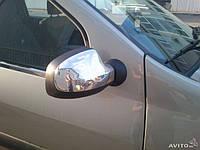 Накладки на дзеркала нерж Renault - Dacia Logan 2008-2013