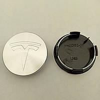 Колпачок в диск Tesla 50-57 мм серый