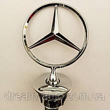 Емблема приціл на капот Mercedes-Benz W212 ,W211 , w221 , w222