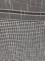 Гарний тюль з льону кремового кольору на метраж, висота 2.8 м (330-1), фото 2