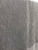 Гарний тюль з льону кремового кольору на метраж, висота 2.8 м (330-1), фото 4