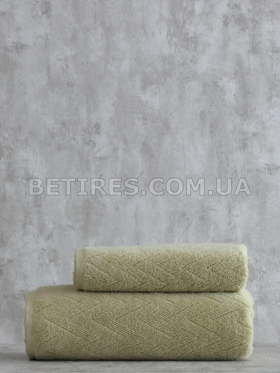 Набор полотенец PAVIA SHERON YESIL (75х150, 50х85) оливковый