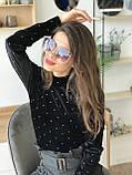 Сонцезахисні окуляри жіночі 80-219-3, фото 5