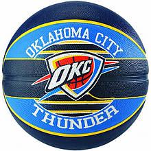 Мяч баскетбольный Spalding NBA Team OC Thunder Size 7