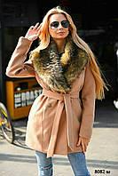 Шикарное зимнее женское пальто 8082 ш, фото 1