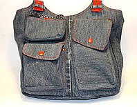 Женская сумка из джинсовых штанов, фото 1