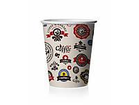 Стакан бумажный 175мл Логотипы