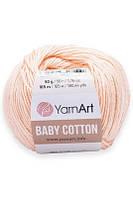 Yarnart Baby Cotton(бебі коттон) - 411 персиковий