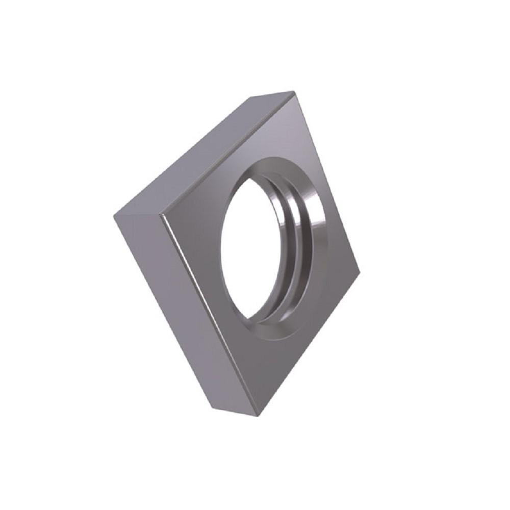 Гайка Четырехгранная Низкая М4 / 50 шт 04 ЦБ DIN562