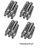 Балончики (20шт.) для пневматики SAS/ баллончики CO2 для пневматического пистолета, для пневмата (12г)