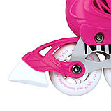 Роликовые коньки Nils Extreme NA13911A Size 39-42 Pink, фото 6