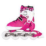 Роликовые коньки Nils Extreme NA13911A Size 39-42 Pink, фото 2