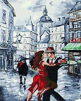 """Алмазная картина-раскраска по номерам Brushme """"Страсный танец с Марио"""" 40х50 см"""