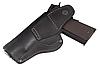 Кобура Colt 1911 поясна не формована з кліпсою (шкіра, чорна), фото 2