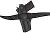 Кобура Colt 1911 поясна не формована з кліпсою (шкіра, чорна), фото 4