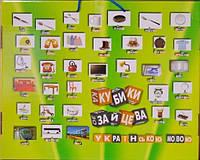 Кубики Зайцева українською мовою (зібрані)
