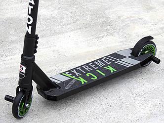 Самокат Трюковый Maraton Dexter EK HIC с пегами, колеса алюминиевые 110 мм, самокат для трюков