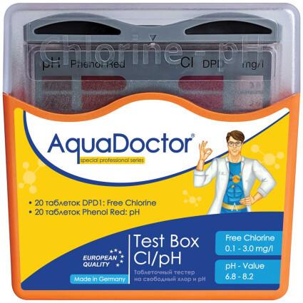 AquaDoctor Тестер AquaDoctor Test Box Cl/pH