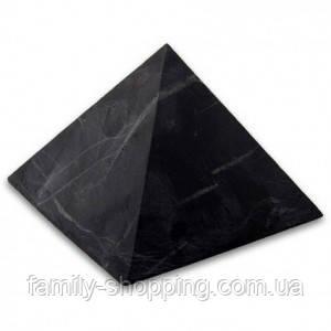 Піраміда з шунгита (полірована), 100х100