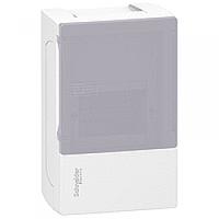 Щит  Mini Pragma 4 модуля навесной дымчатая дверь IP40