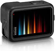 Силиконовый чехол + крышка на объектив с ремешком на запястье для GoPro HERO 9 Black черный, фото 3