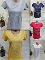 Женская футболка, S/M,L/XL рр.,  № 00115